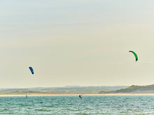 Load image into Gallery viewer, Kitesurfers, Beadnell beach, Northumberland