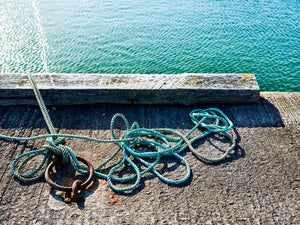 Blue Rope, Beadnell harbour, Northumberland coast