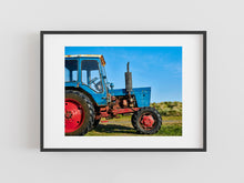 Load image into Gallery viewer, Beadnell Tractor, Northumberland coast, North East England.