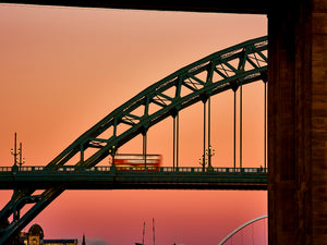 Tyne Bridge at Sunset