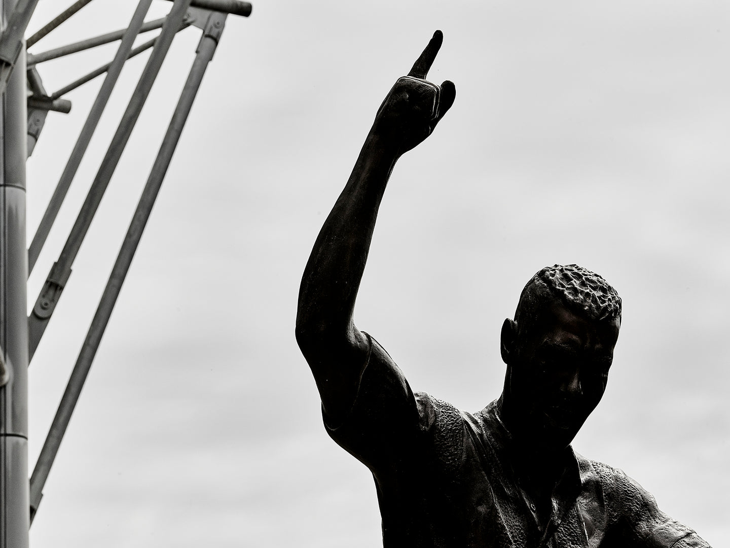Alan Shearer Statue, St James Park