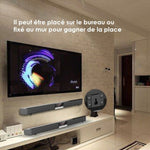 TV Barre de Son  Haut-Parleur Bluetooth Sans Fil Surround Home Cinéma + Design mural N4