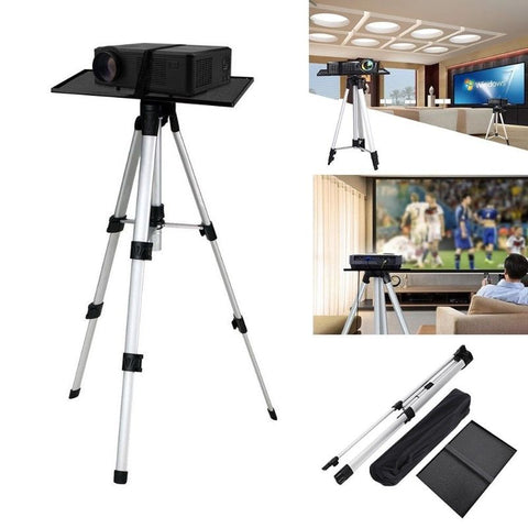 Support Trépied de Projecteur en Alumimium, Poratble Adjustable   T11