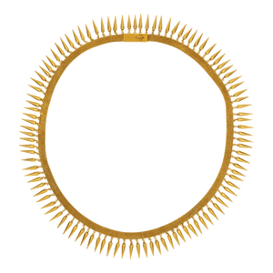 Unsigned Etruscan Revival Gold Necklace, 19th Century