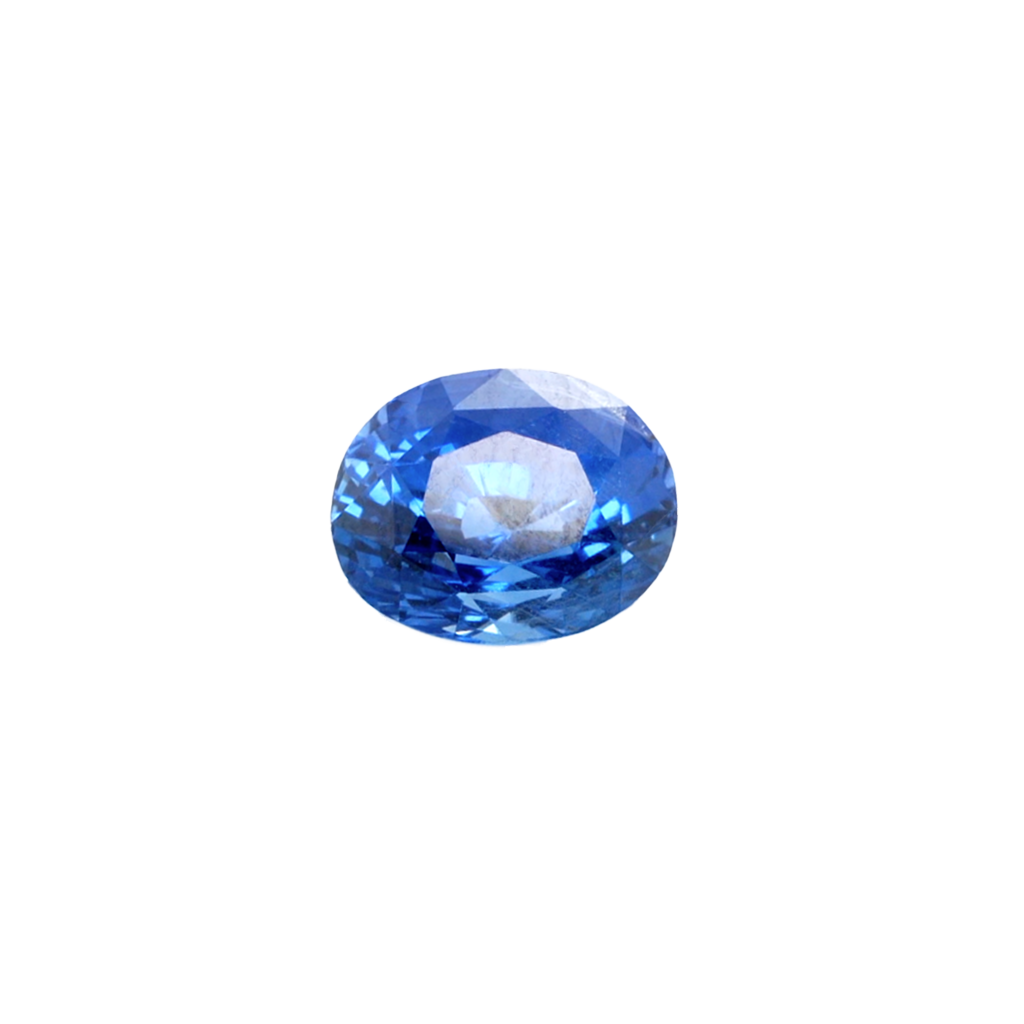 Oval Blue Sapphire, 4.05cts