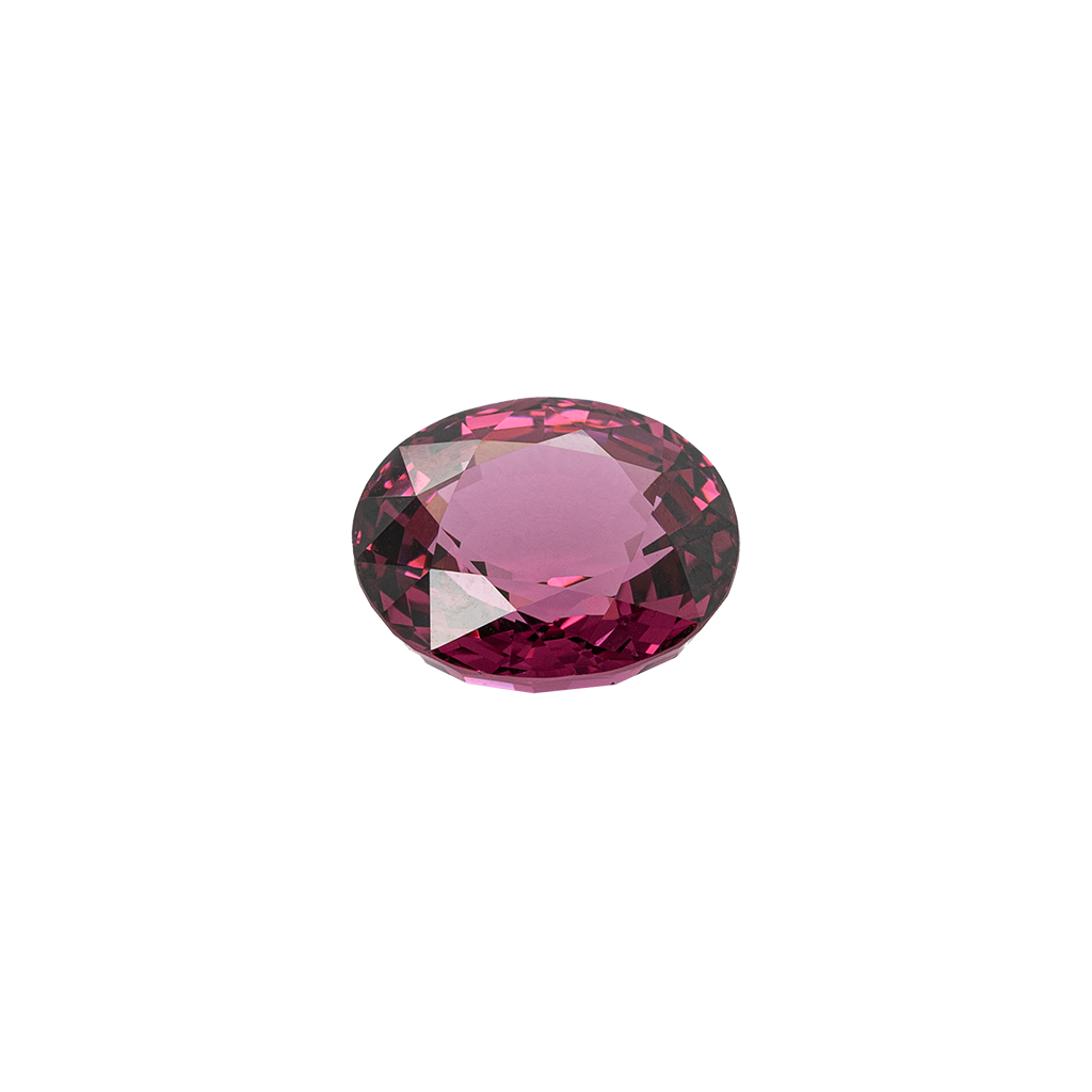 Oval Dark Pink Spinel, 14.02cts