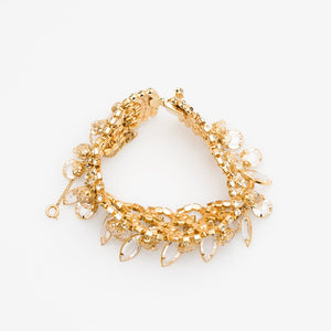 Juliana 1960s Gilt and Crystal Bracelet, D&E
