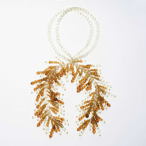 Coppola e Toppo 1950s for Christian Dior Half Crystal Waterfall Necklace