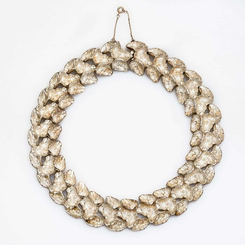 Tom Ford 2000s Organic Oyster Shell Collar