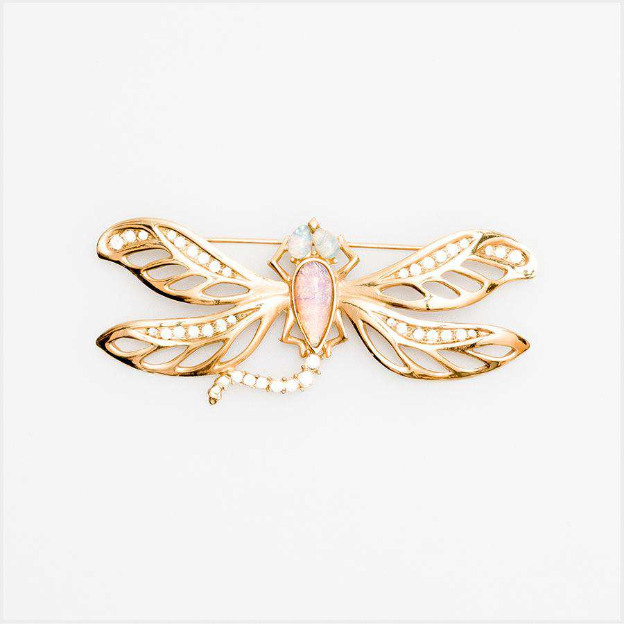 1980s Givenchy Dragonfly Brooch