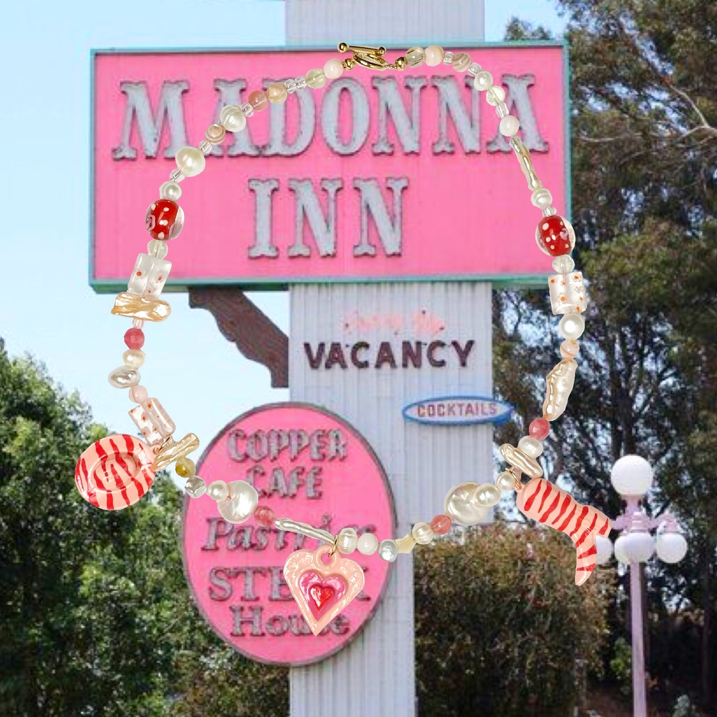MADONNA INN NECKLACE