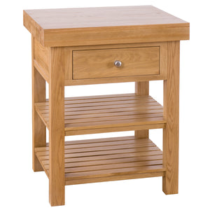 Square Island with 2 Drawers & 2 Shelves