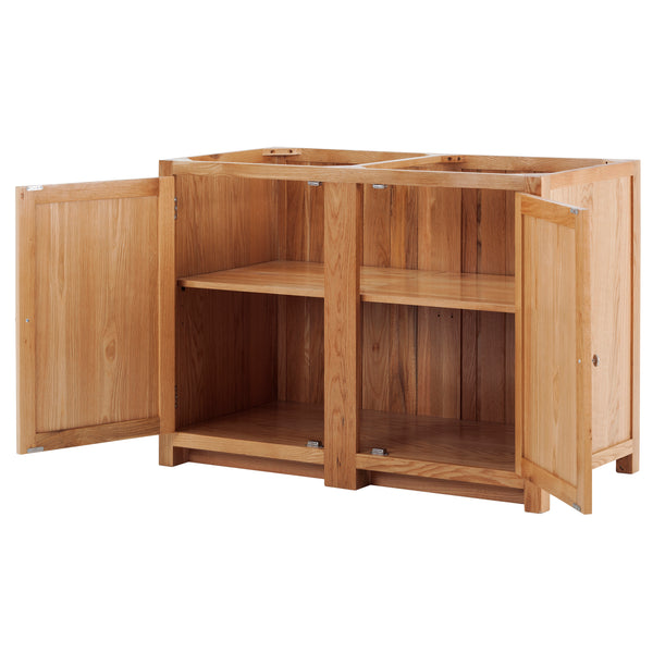 KIC008 - Corner Cabinet or Large Base Cabinet in Oak