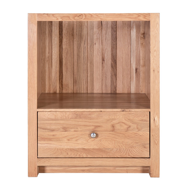 KIC026 - Oak Single undercounter oven cabinet