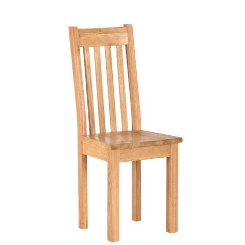 Oak Dining Chair with Timber seat