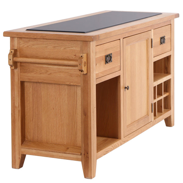 Granite Top Kitchen Island Unit