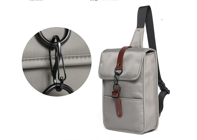 New Fan Zu chest bag men's Messenger bag men's shoulder bag diagonal shoulder bag men's backpack small casual fashion pockets sports