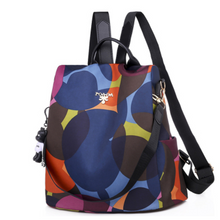 Load image into Gallery viewer, Oxford Cylindrical Back pack