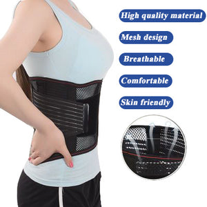 Self-Heating Lumbar Support Belt for Lower Back Pain Relief