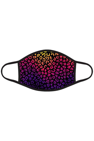 3d Sequin Fashion Graphic Printed Face Mask Unisex Adult