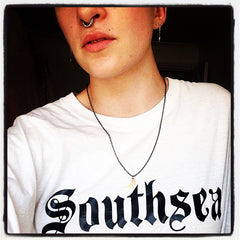 Hillfield Trading Gothic Southsea Ladies Fitted T Shirt