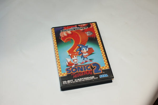 Sega Mega Drive Sonic the Hedgehog 2 CASE & MANUAL ONLY