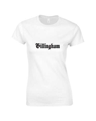 Hillfield Trading Gothic Gillingham Ladies T Shirt