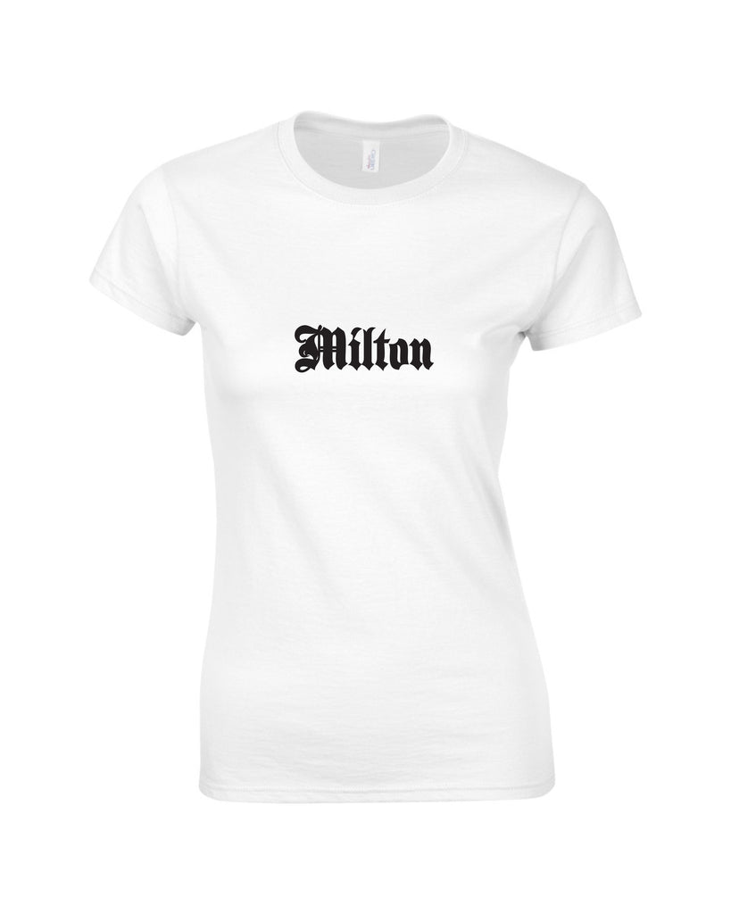 Hillfield Trading Gothic Milton Ladies T Shirt