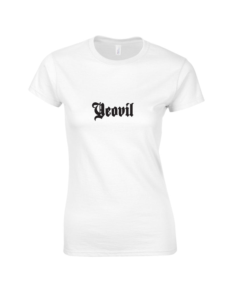Hillfield Trading Gothic Yeovil Ladies T Shirt
