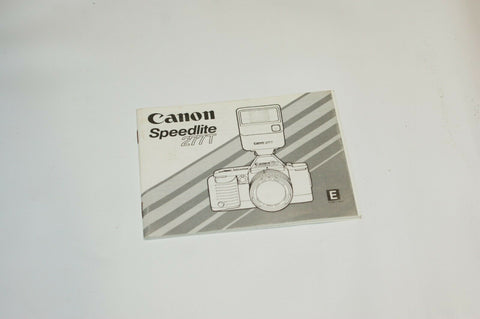 Canon Speedlite 277T Instruction Manual Guide Spec