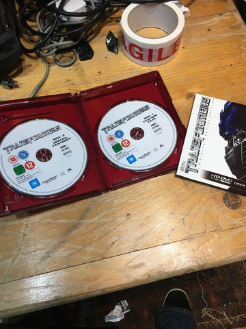 HD DVD rare Transformers 2 Disc Special Edition