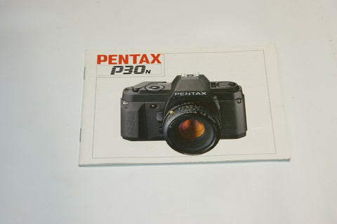 Pentax P30N Instruction Manual Guide Spec