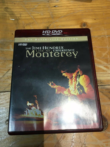 HD DVD Jimi Hendrix Experience Live At Monterey