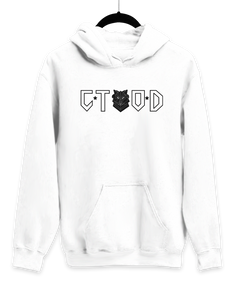 Closer To Our Dreams White Hoodie