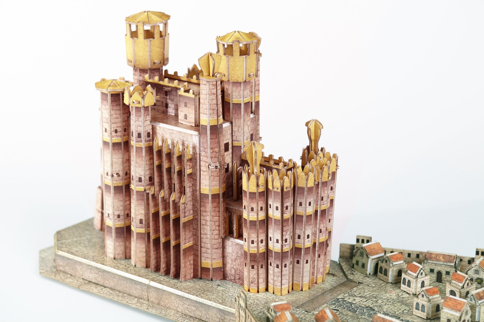 3D Game of Thrones Kings Landing Puzzle - 4D Puzzle - 4D Cityscape