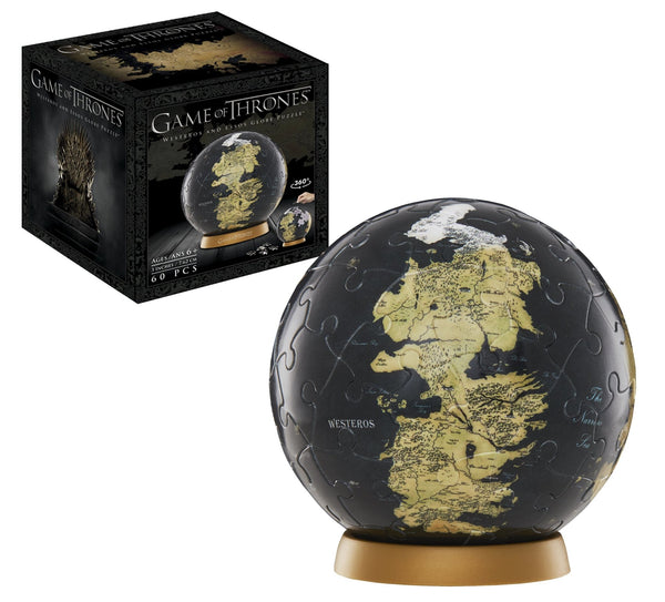 3D Game of Thrones World Globe Puzzle 3