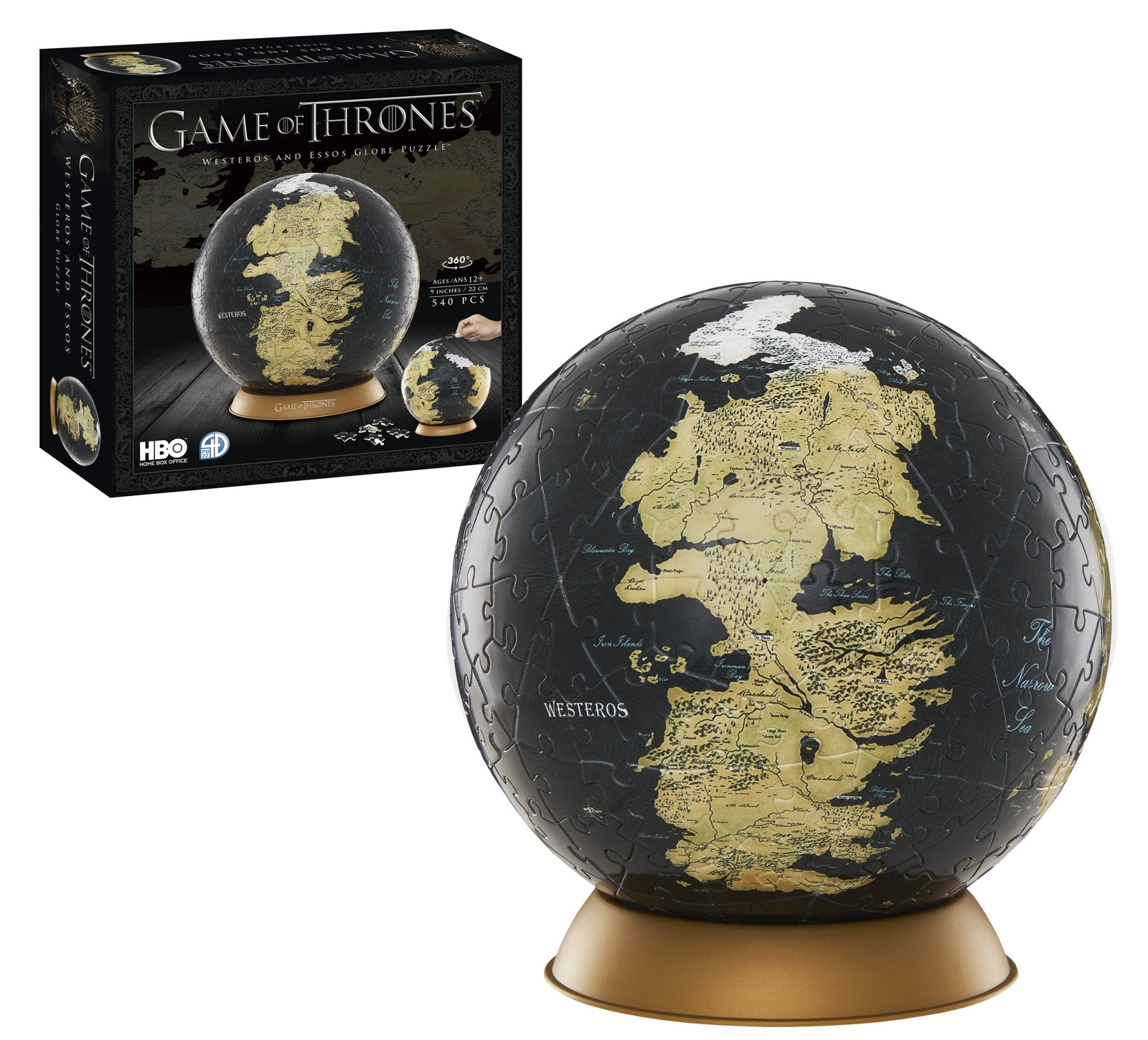 3D Game of Thrones World Globe Puzzle 6