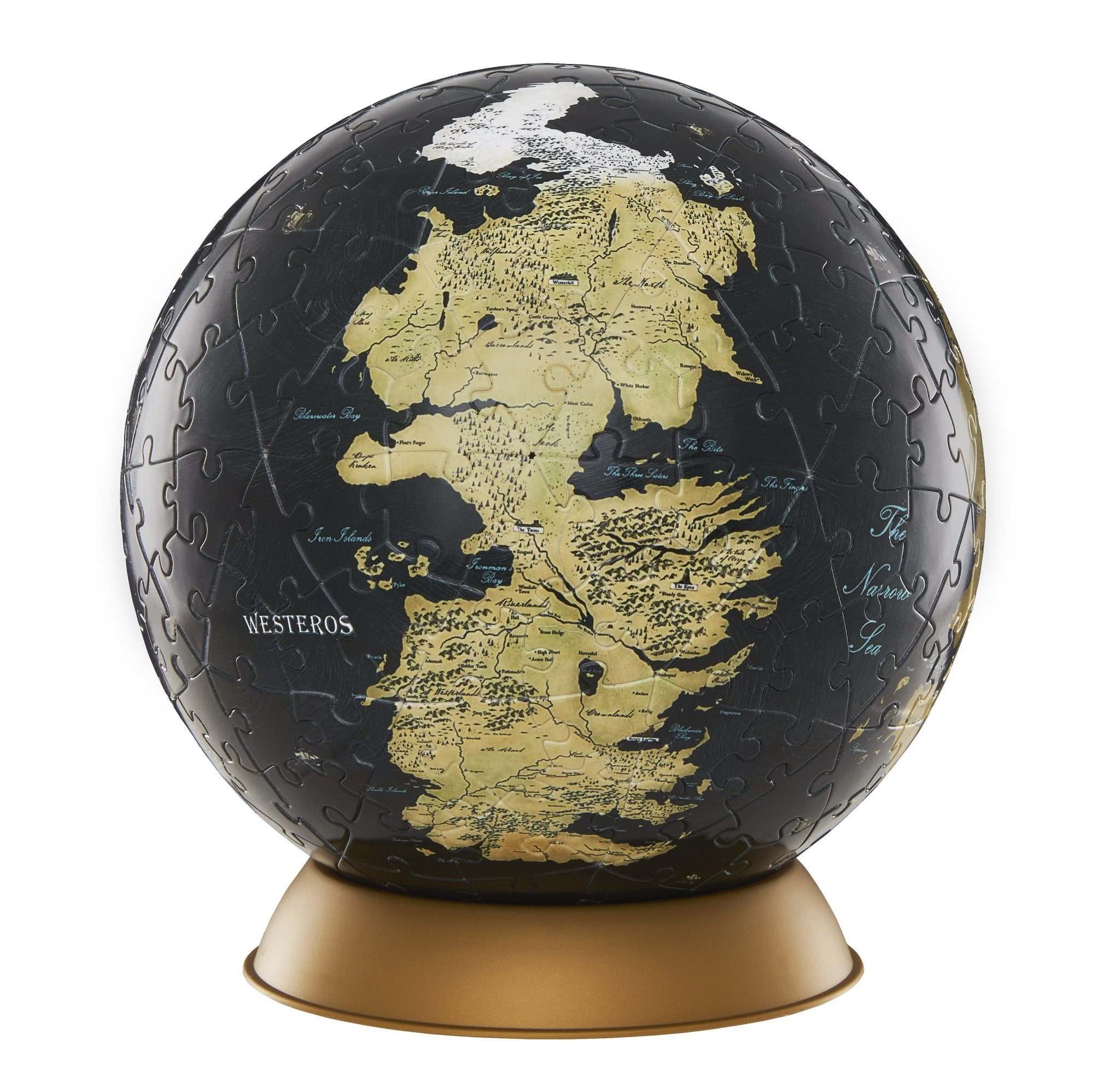 "3D Game of Thrones World Globe Puzzle 6"" - 4DPuzz - 4DPuzz"