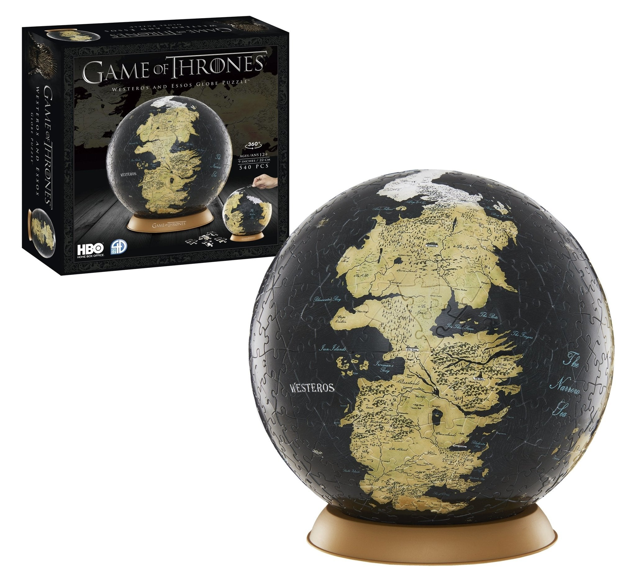 3D Game of Thrones World Globe Puzzle 9