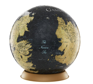 "3D Game of Thrones World Globe Puzzle 9"" - 4DPuzz - 4DPuzz"