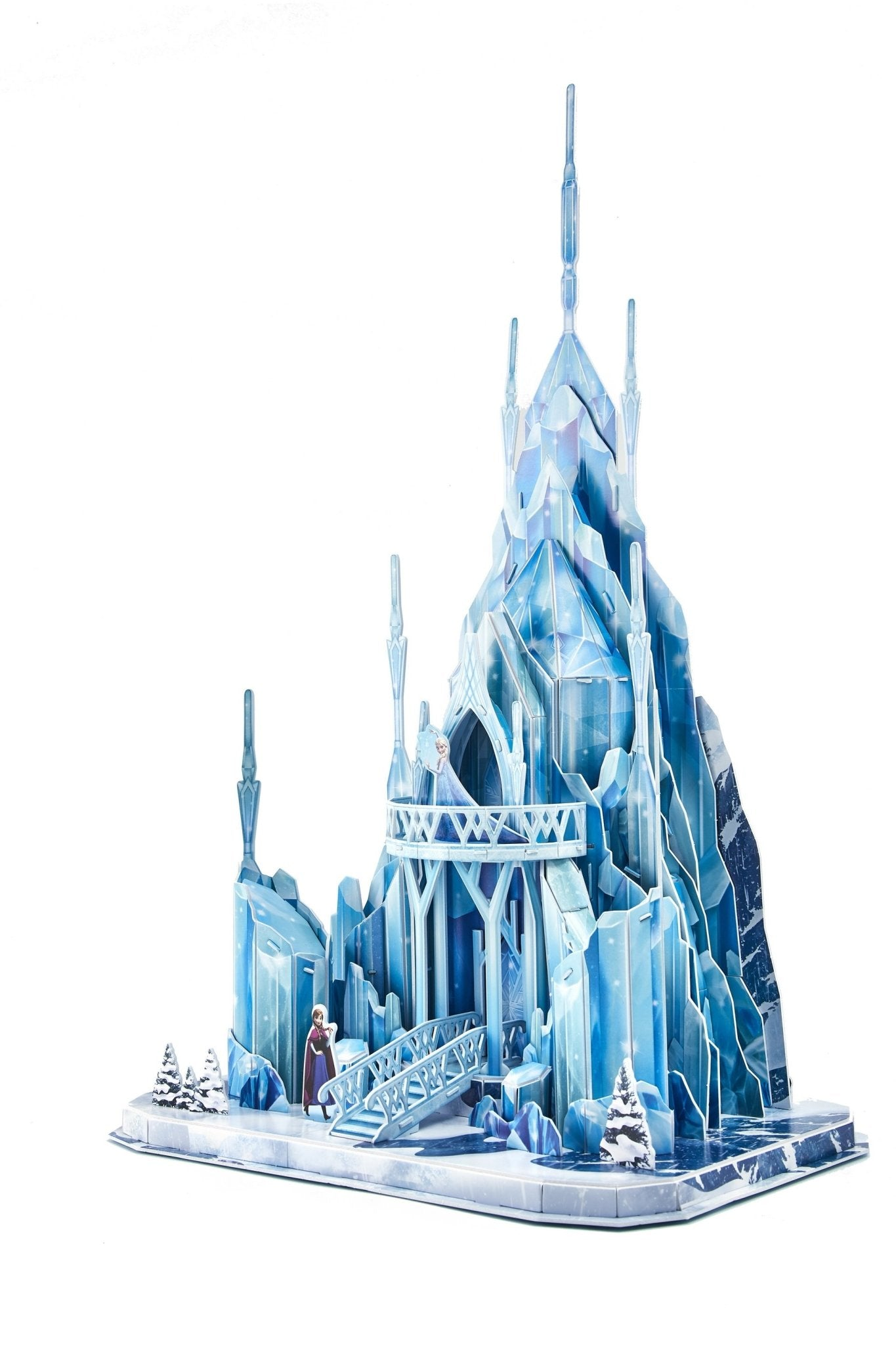 3D Puzzle: Frozen Ice Palace - 4DPuzz - 4DPuzz