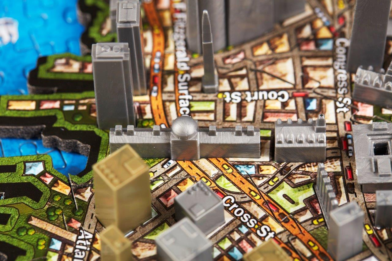 4D Cityscape Boston Time Puzzle - 4DPuzz - 4DPuzz