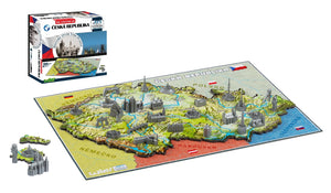 4D Cityscape Czech Republic Time Puzzle - 4DPuzz - 4DPuzz