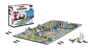 4D Cityscape London Time Puzzle - 4DPuzz - 4DPuzz