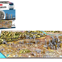 4D Cityscape Los Angeles Time Puzzle - 4DPuzz - 4DPuzz