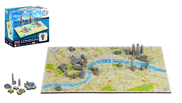 4D Cityscape Mini London Puzzle - 4DPuzz - 4DPuzz