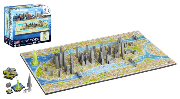 4D Cityscape Mini NEW YORK Puzzle - 4DPuzz - 4DPuzz