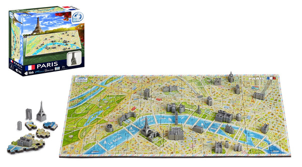 4D Cityscape Mini Paris Puzzle - 4DPuzz - 4DPuzz