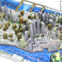 4D Cityscape NEW YORK Time Puzzle - 4DPuzz - 4DPuzz