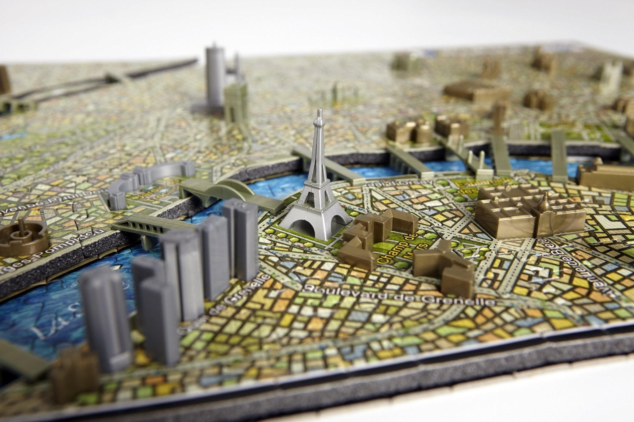 4D Cityscape Paris Time Puzzle - 4DPuzz - 4DPuzz
